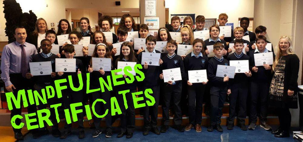 Mindfulness Certificates to First-Year Guidance Classes