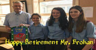 Happy Retirement Pat
