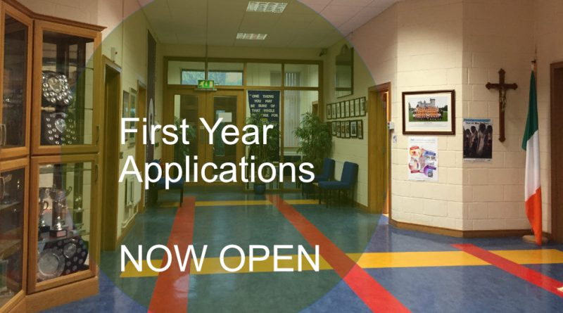 1st Year Applications